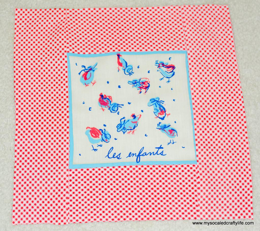 09 DSC 3489 1024x909 Vintage Cocktail Napkin Pillow