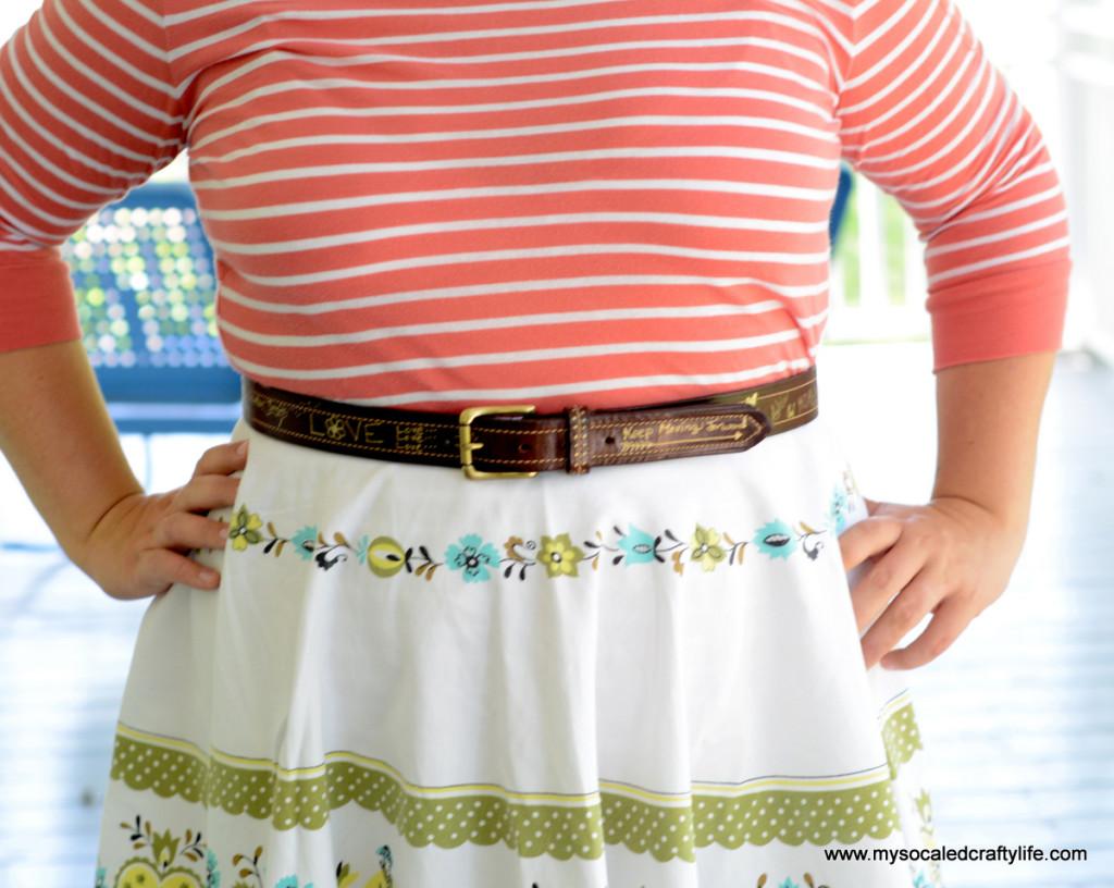 1 DSC 3770 1024x816 Vintage Crafts  Autographed Belt