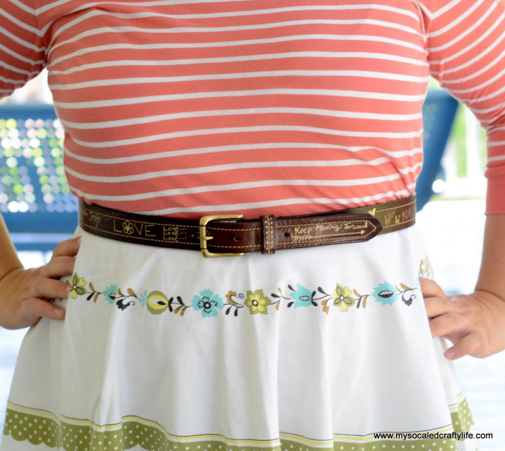 2 DSC 3769 1024x915 Vintage Crafts  Autographed Belt