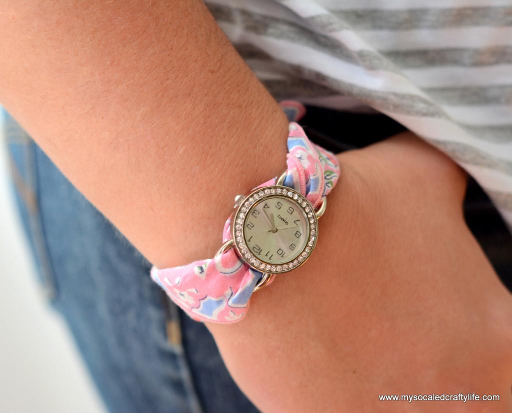 3 DSC 3359 1024x825 Five Minute DIY Vintage Hanky Watch