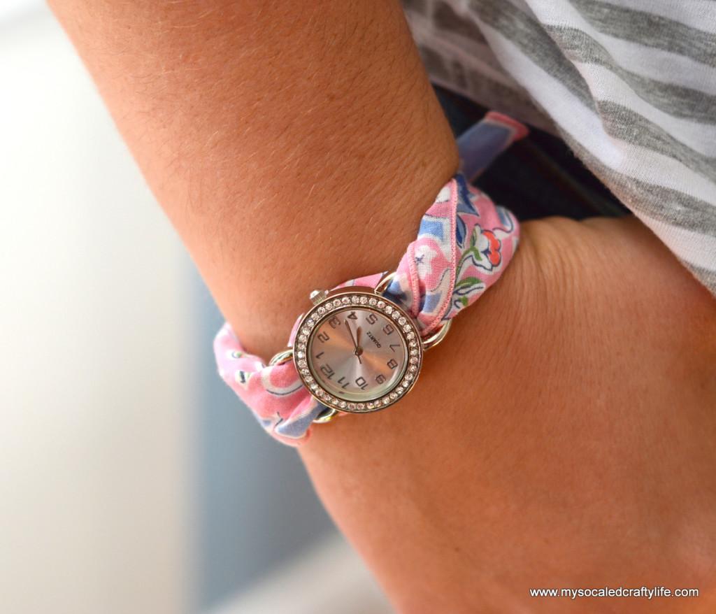4 DSC 3356 1024x878 Five Minute DIY Vintage Hanky Watch