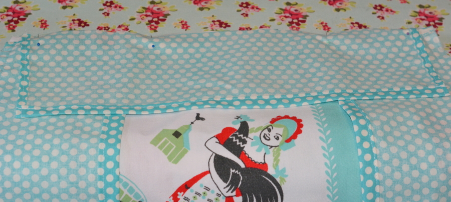 24 DSC 3641 DIY Custom Chair Seat Covers with A Vintage Tablecloth