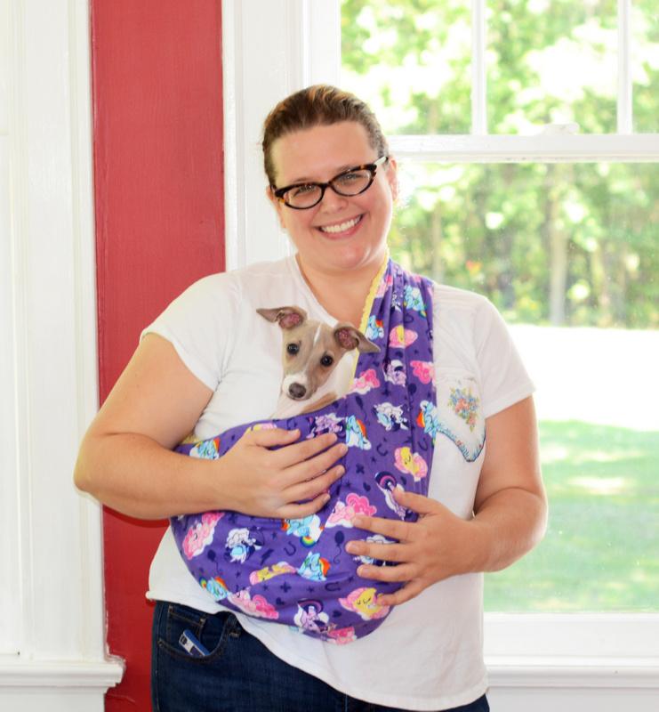 DIY Soft and Cozy Pet Sling