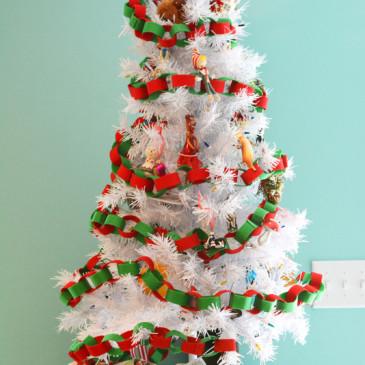 DIY Felt Paper Chain Garland